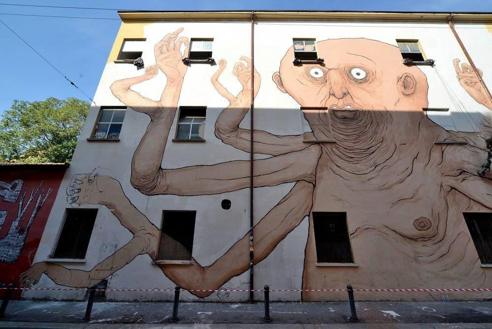 Nemo's Street Art Làbas Bologna