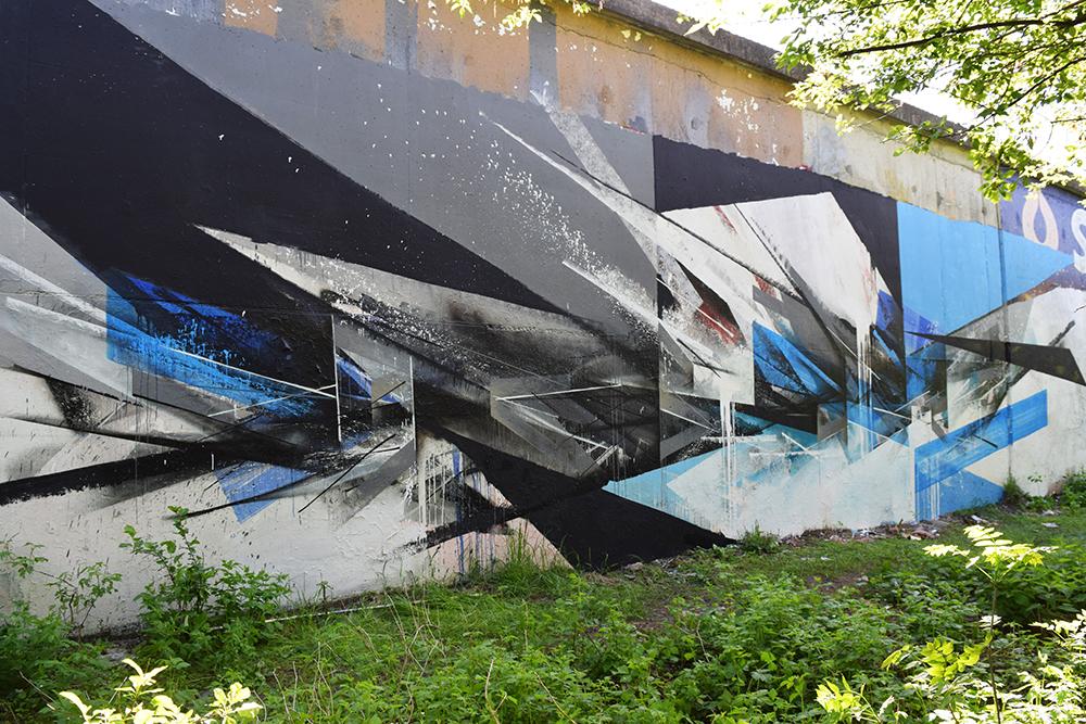 Pener graffiti Olsztyn Polska Poland