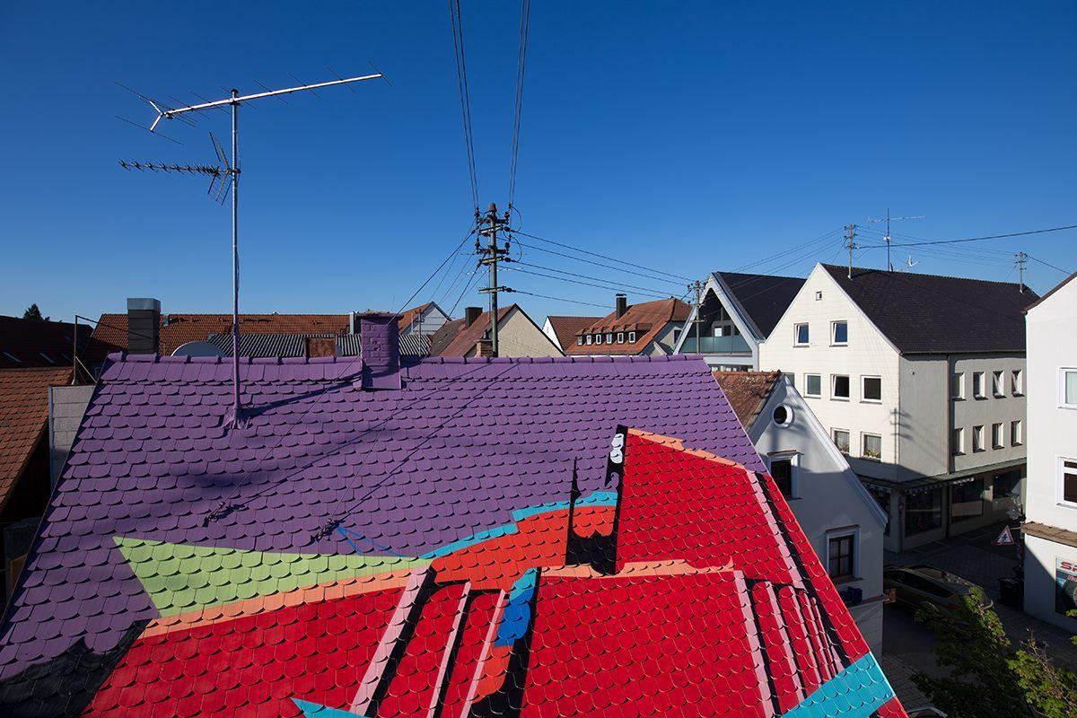 SatOne Street Art Pfaffenhofen Germany