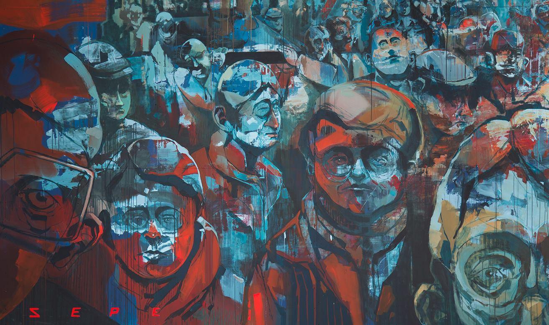 Sepe street art St. Petersburg