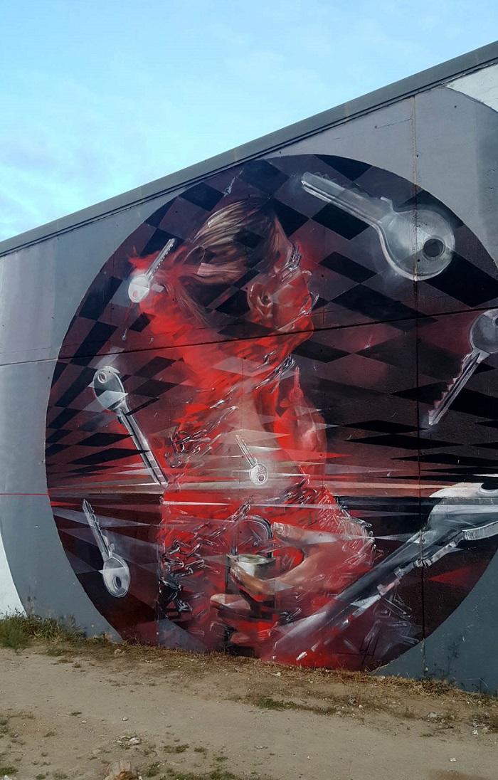 Vesod street art cartagena