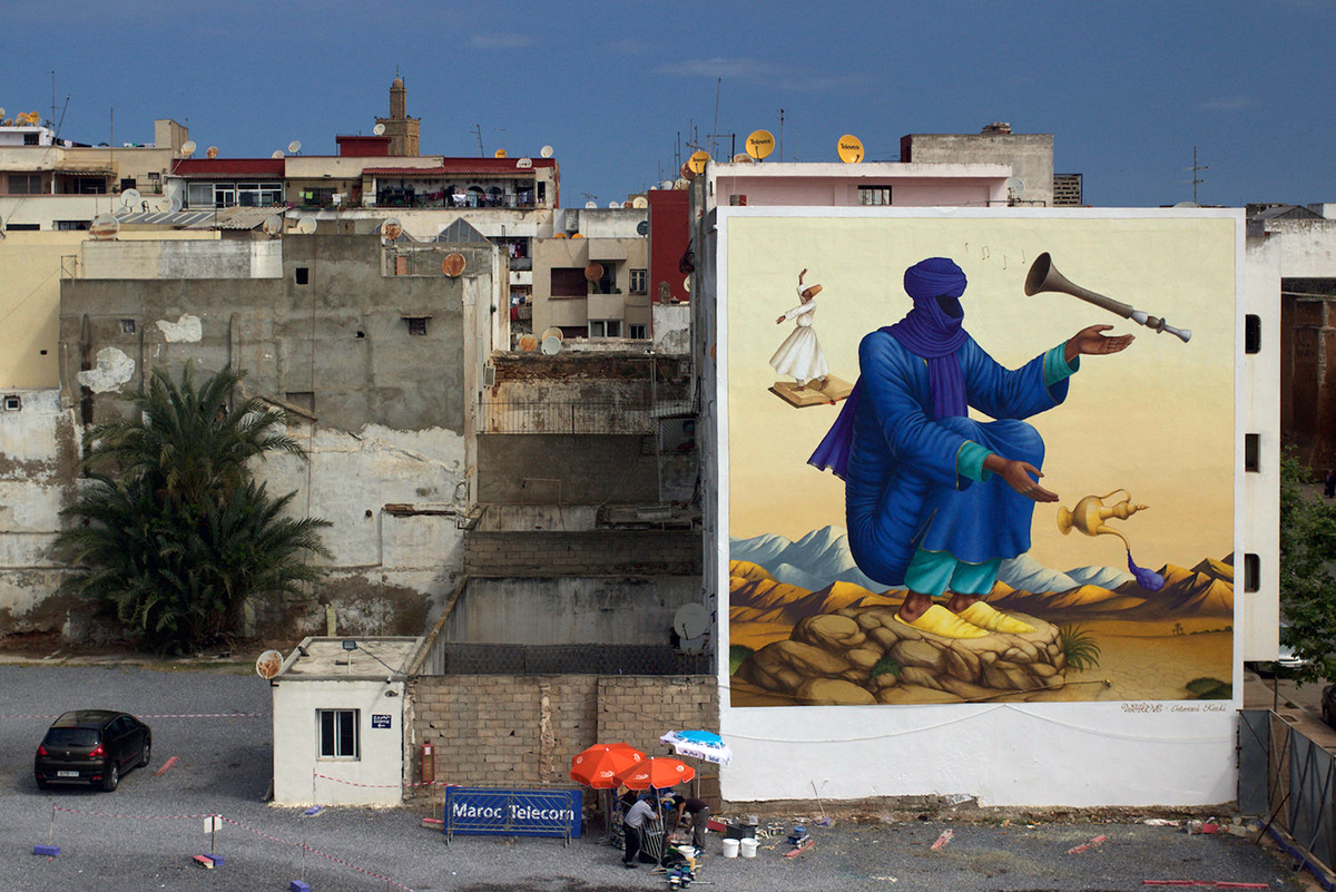 Waone Interesni Kazki Marocco Rabat Jidar Festival