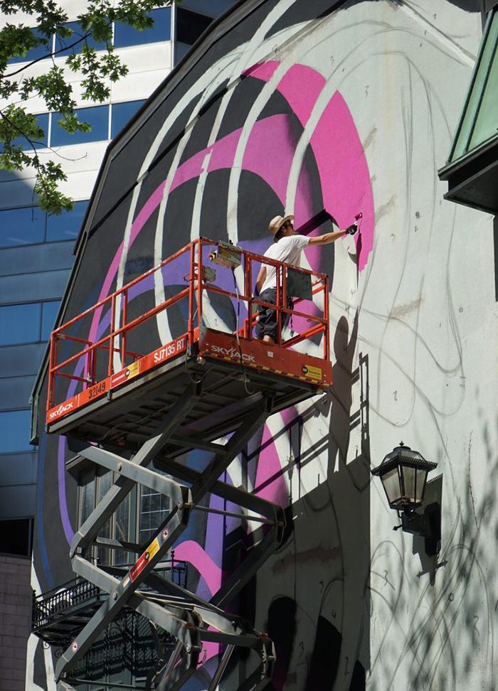1010 Street Art Mural Festival Montreal