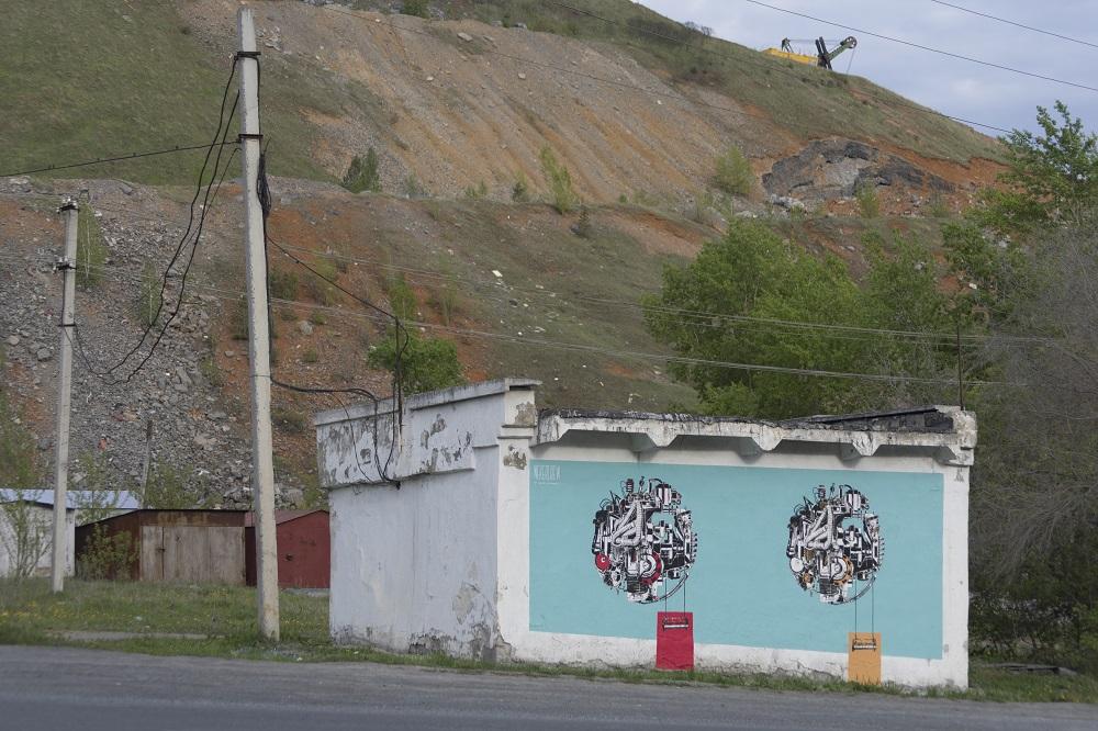 Nevercrew street art Satka Street Art Festival