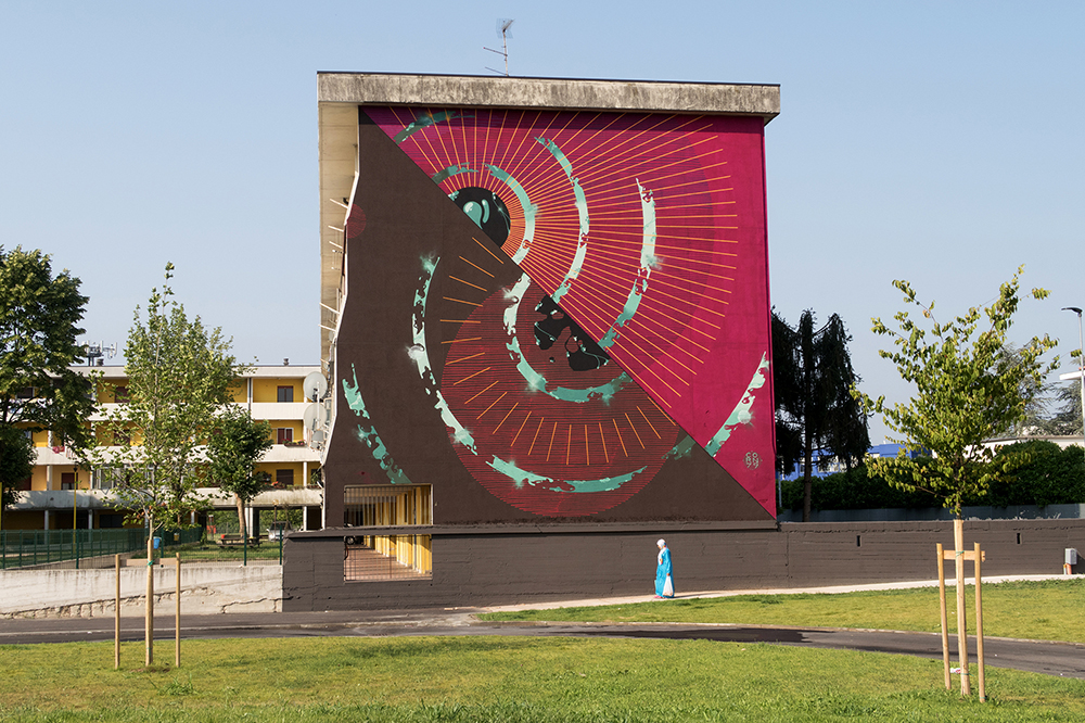 Corn79 Street Art Without Frontiers Lunetta Mantova