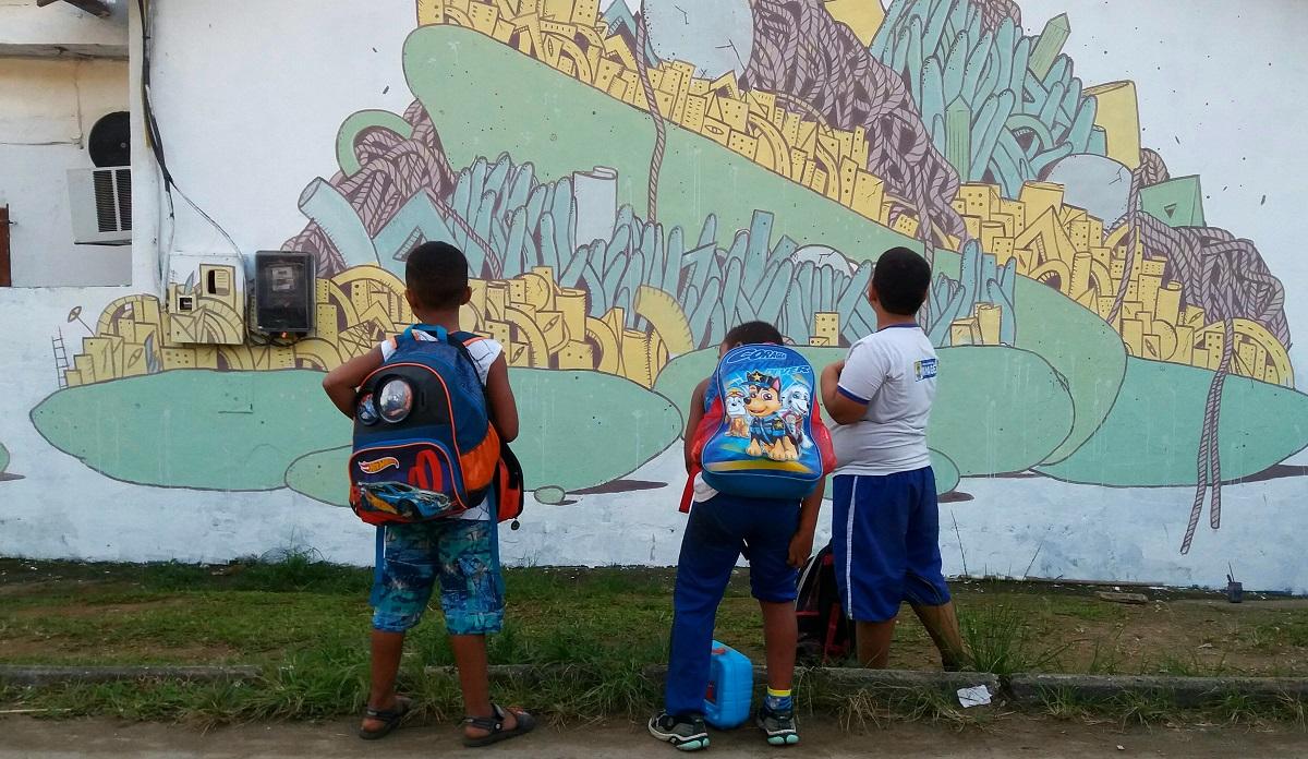 Crisa street art Baixada Fluminense Rio de Janeiro