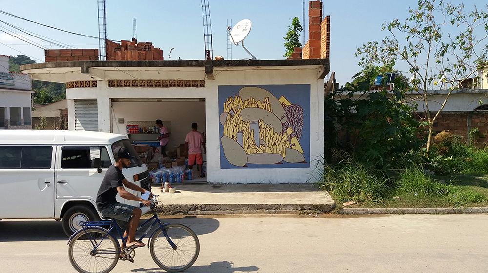 Crisa street art Baixada Fluminense, Rio de Janeiro