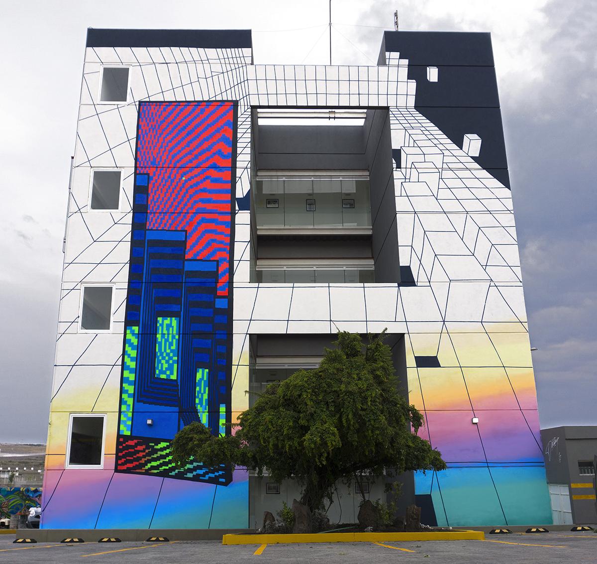 Desmky Street Art Santiago de Querétaro