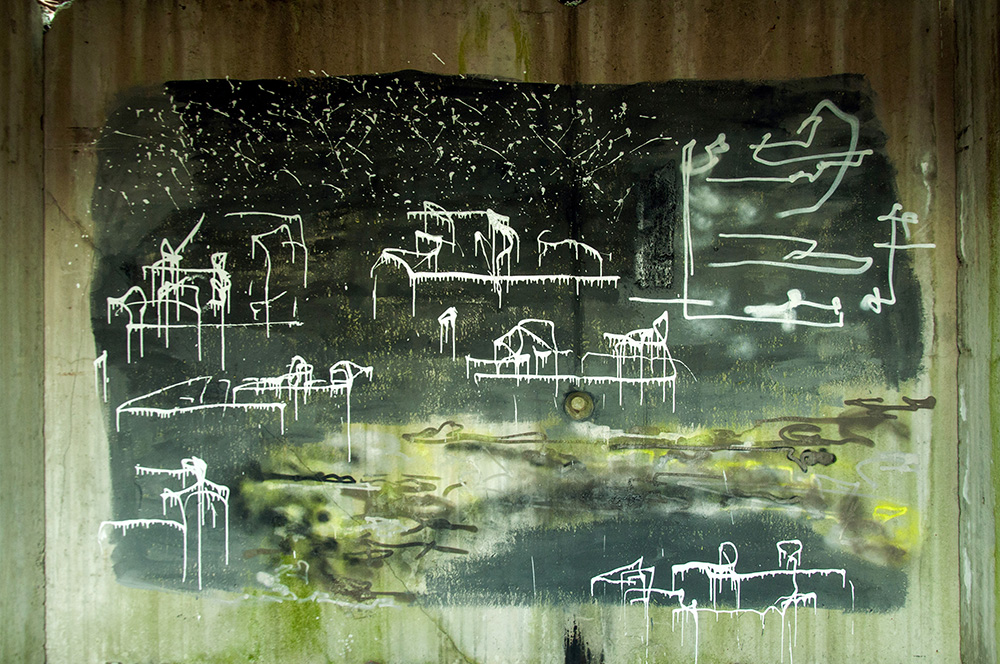 EAS street art graffiti Kremenčuk Ukraine