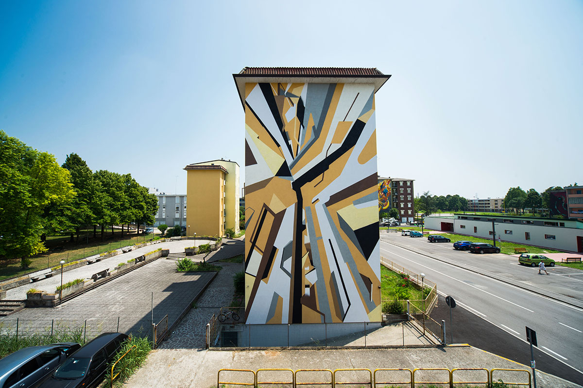 Elbi Elem Street Art Without Frontiers Lunetta a Colori Mantova