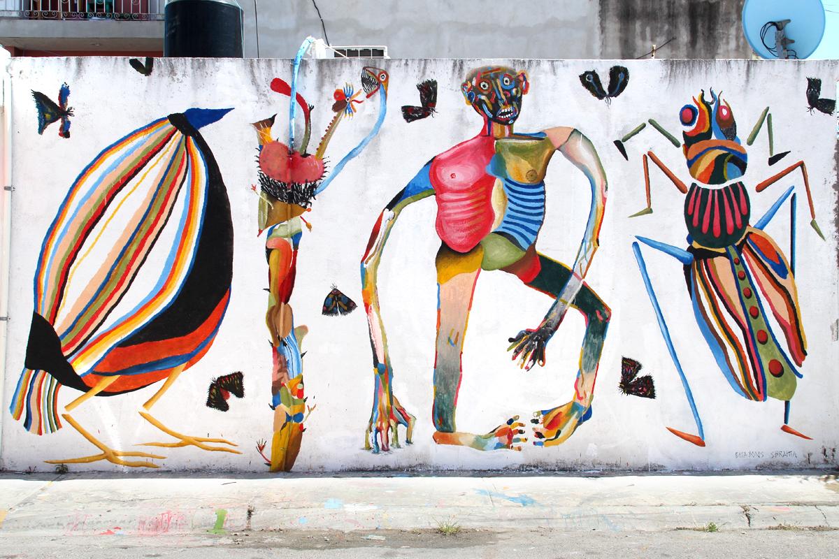 Emajons Sbrama Street Art Messico width=
