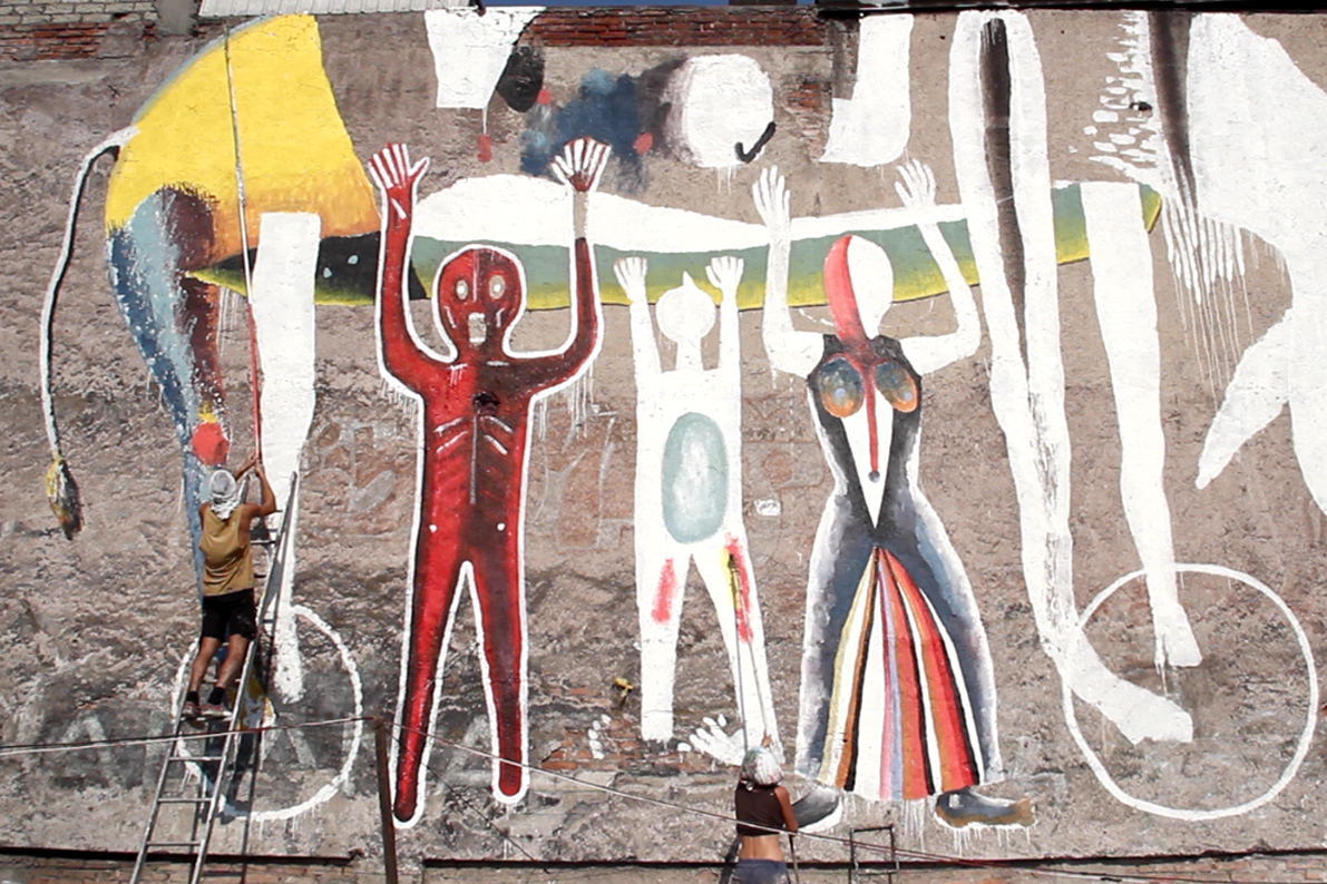 Emajons Sbrama Street Art Messico