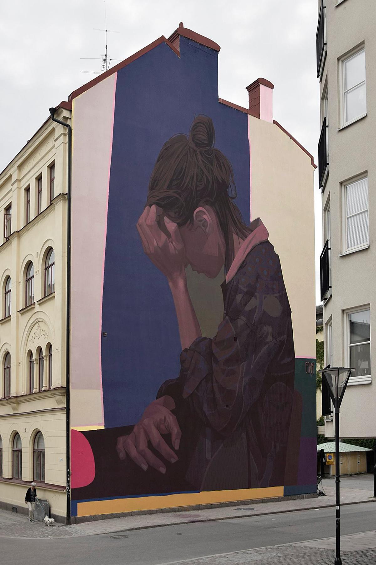 Etam Cru Street Art Örebro Sweden