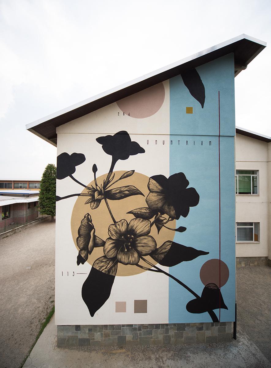 Fabio Petani Street Art Piscina Torino