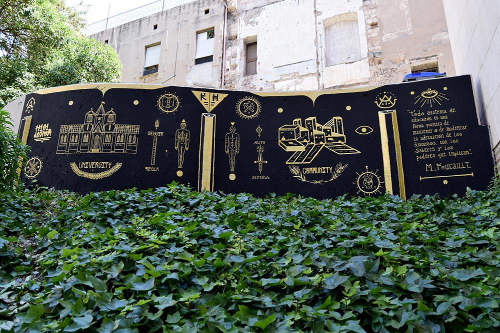 LeonKa Kafre H101 Street Art Barcelona