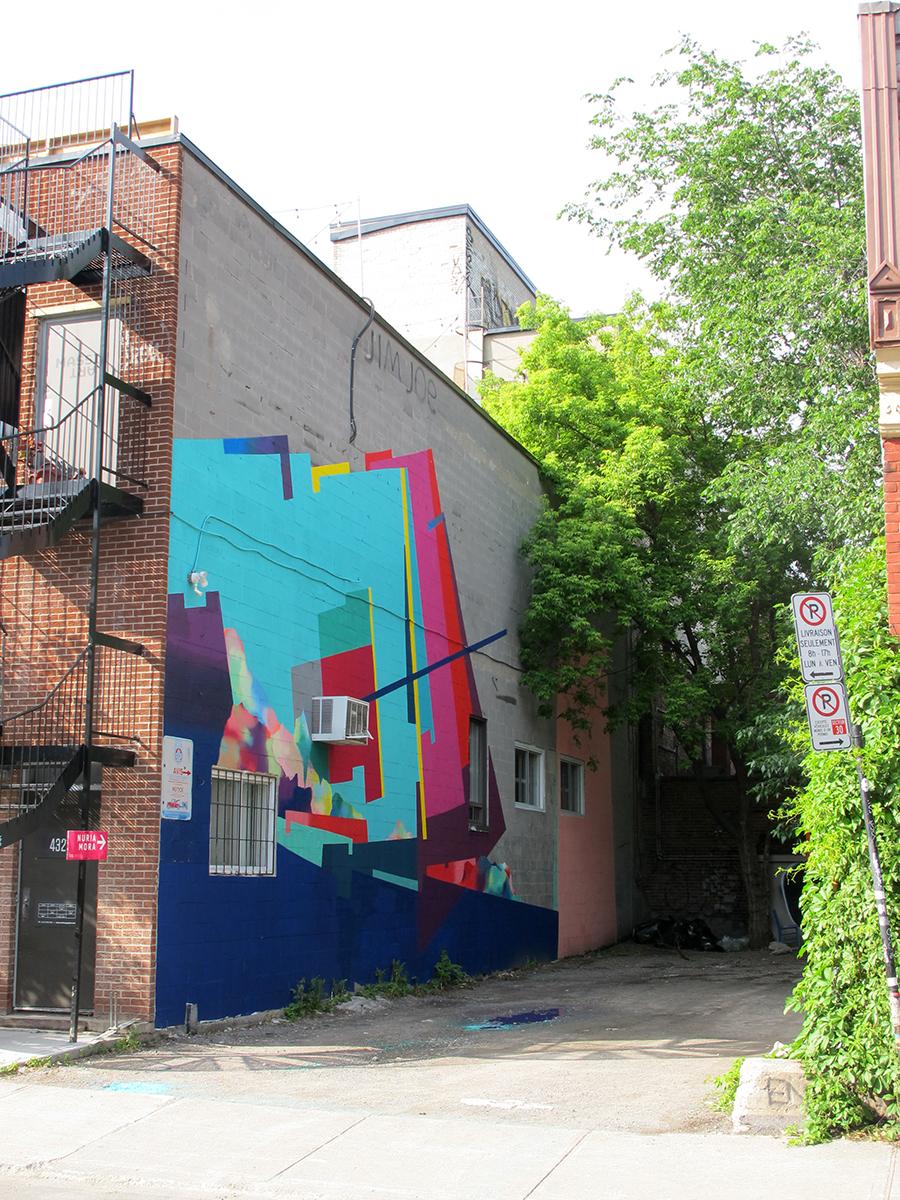 Nuria Mora Street Art Monteal MURAL Festival 2017