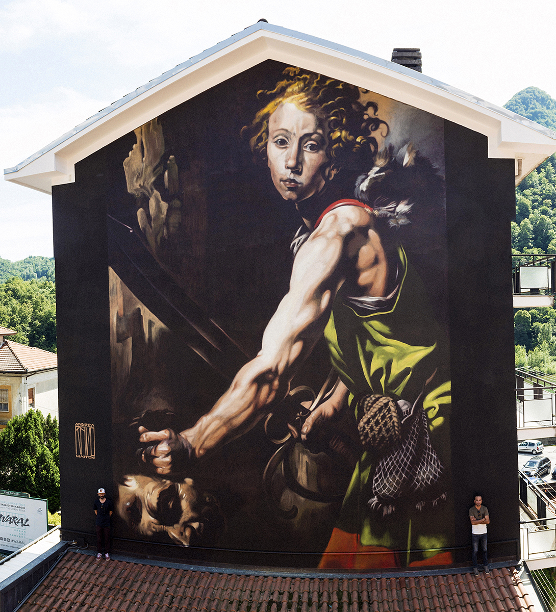 Ravo street art Varallo