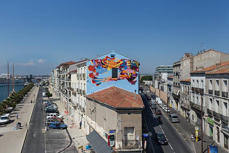 SatOne Street Art Sète