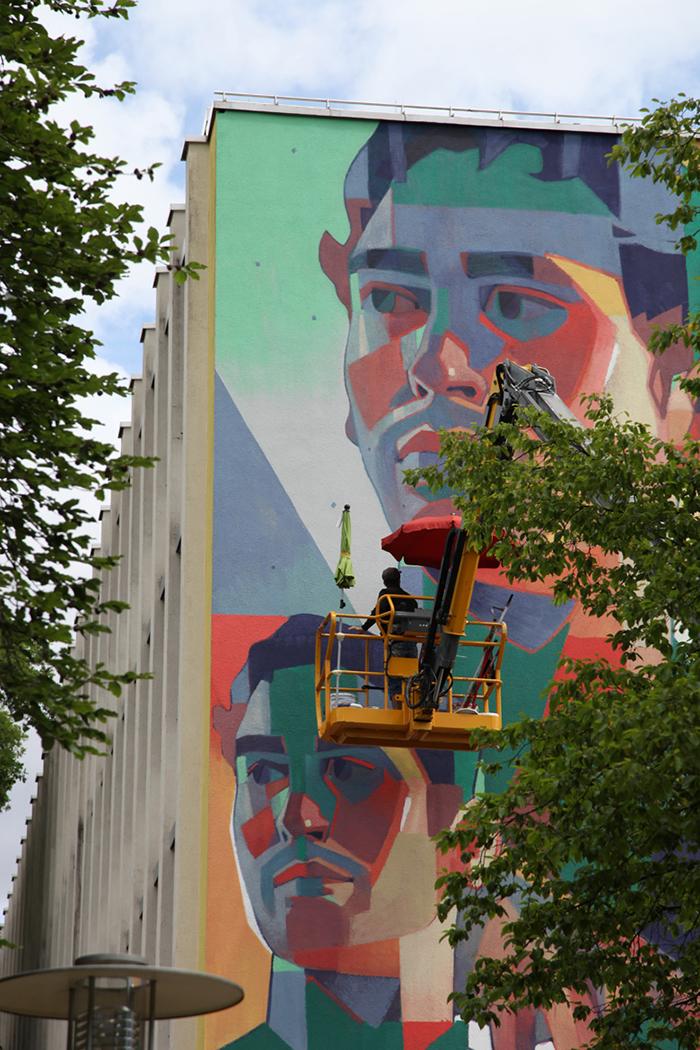 Os Gemeos Aryz Street Art Munich