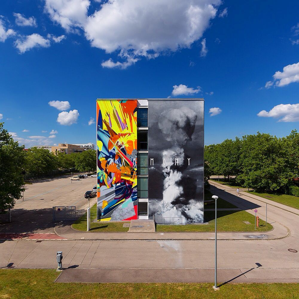 Axel Void SatOne Street Art Munich