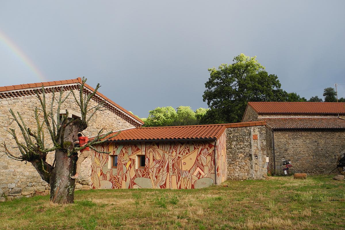 Crisa Street Art Ardéche  France Festival Origines