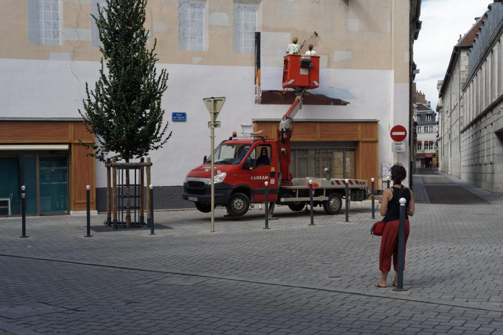 Diana Sirianni Street Art Besançon Bien Urbain Festival