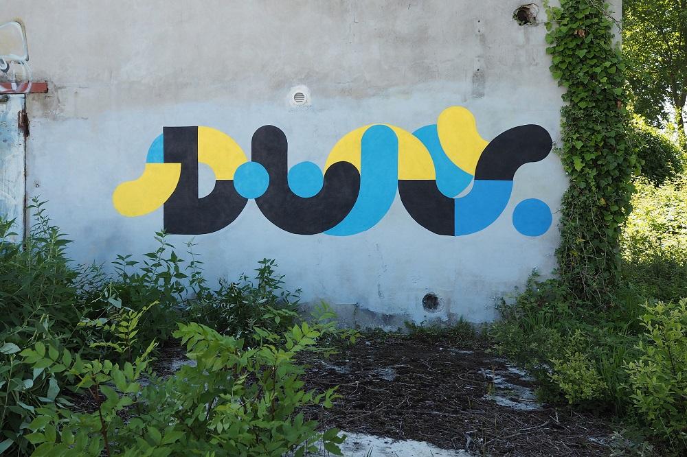 Eko graffiti street art