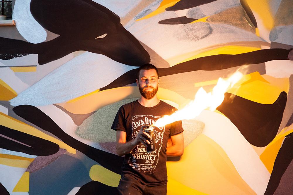 Giorgio Bartocci Street Art Artivive Festival Soliera