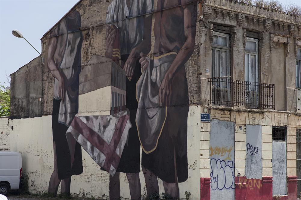 Hyuro Street Art Poliniza Dos El Cabanyal