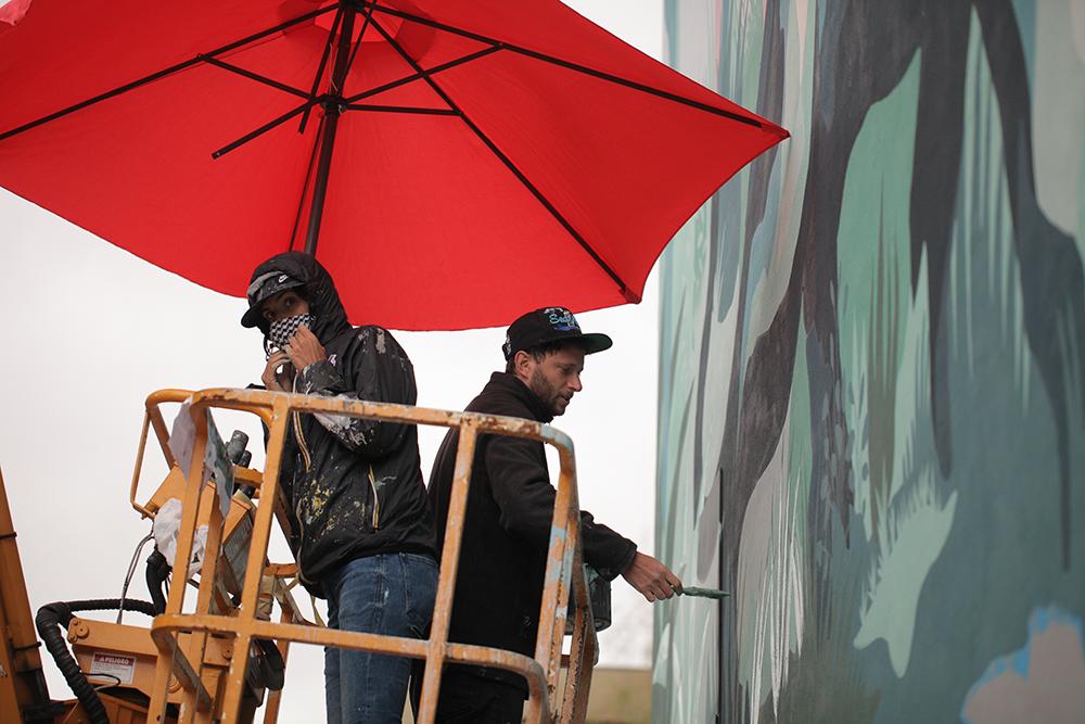 JAZ Franco Fasoli Street Art Kiev Mural Social Club
