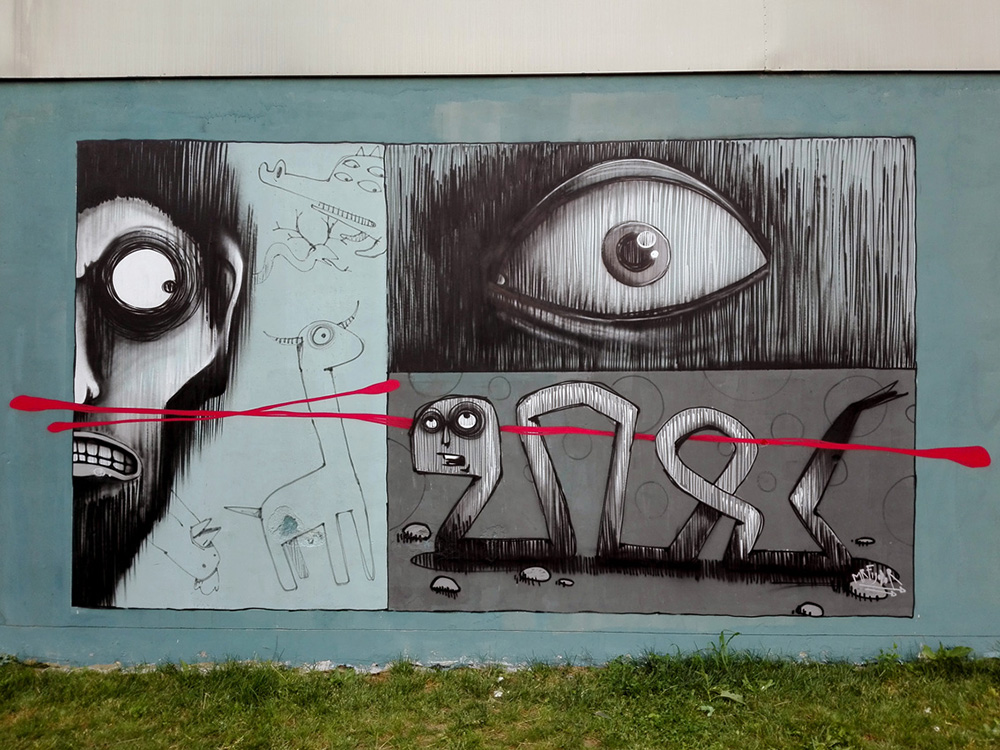 MrFijodor Street Art