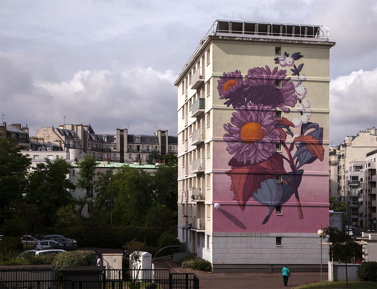 Pastel Street Art Paris