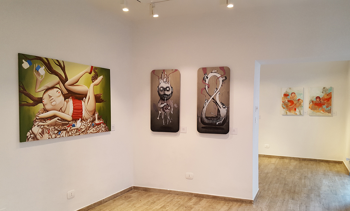 Voracity Group Show Punto618 Gallery