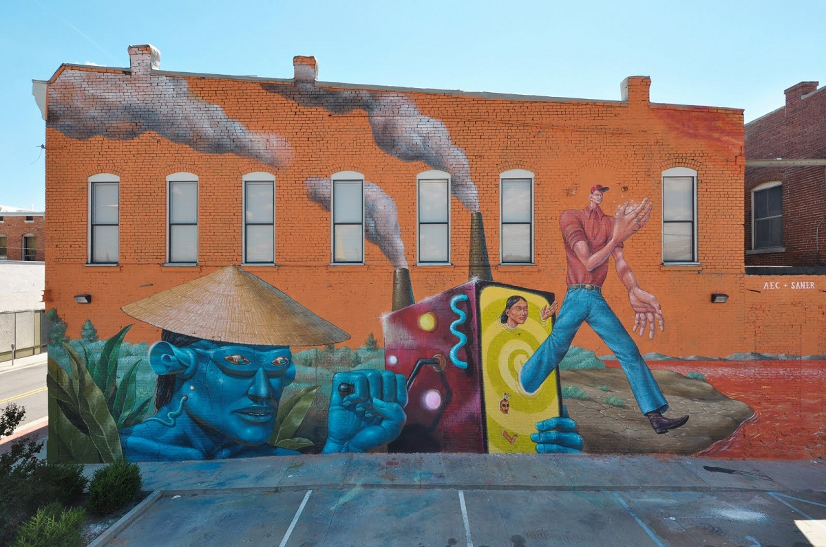 AEC Interesni Kazki Saner Street Art Fort Smith
