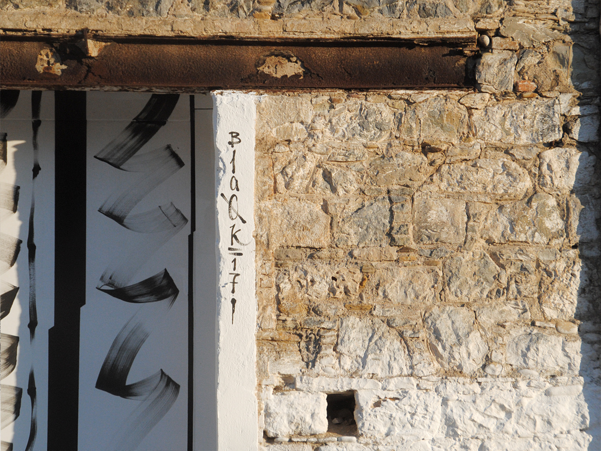 Blaqk Street Art Karlovasi Festival Samos, Greece