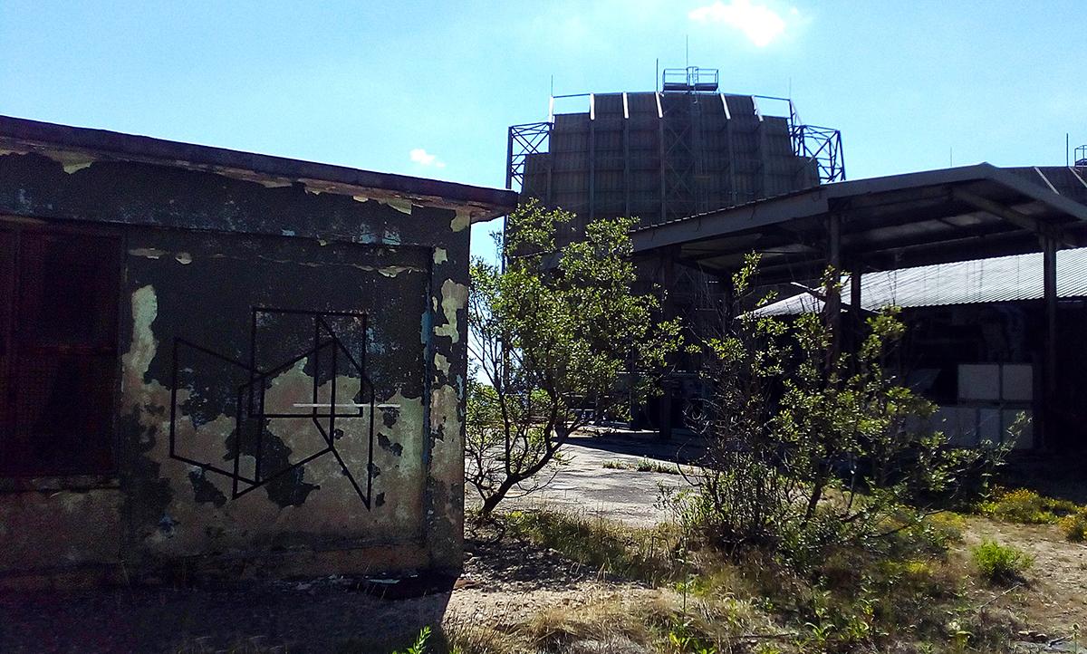 Carne Street Art base radar USAF sul Monte Limbara Pratobello