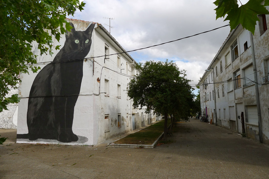 Escif Street Art ERREKALEOR BIZIRIK