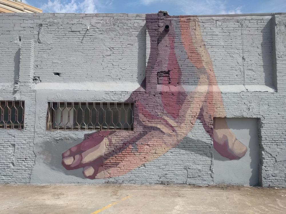 Hyuro Street Art Ús Barcelona