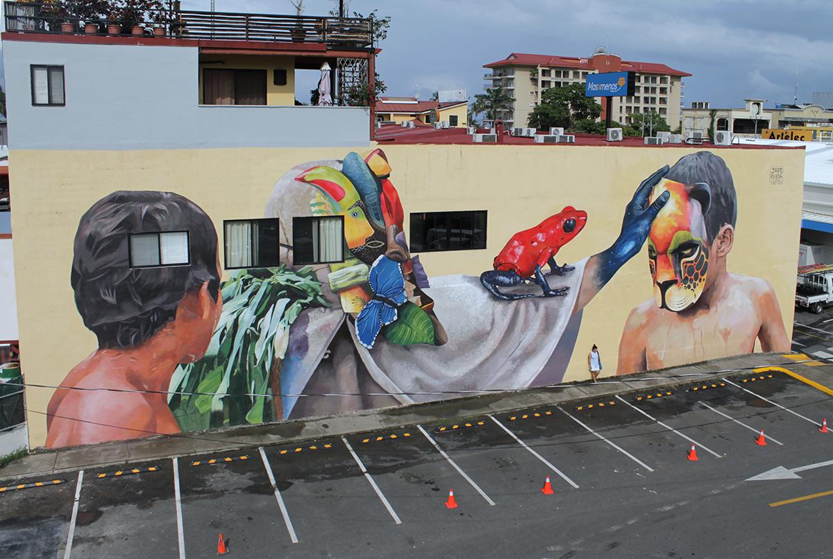 Jade Rivera Street Art ARTIFYJACO Jacó, Costa Rica