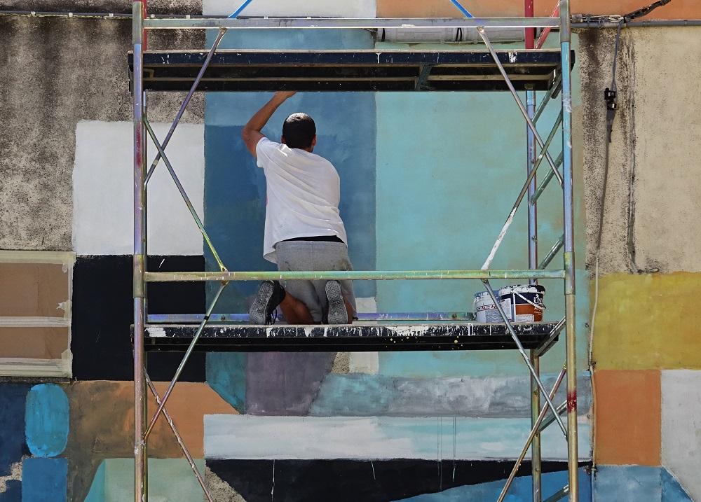 Nelio Street Art Santa Croce di Magliano Premio Antonio Giordano