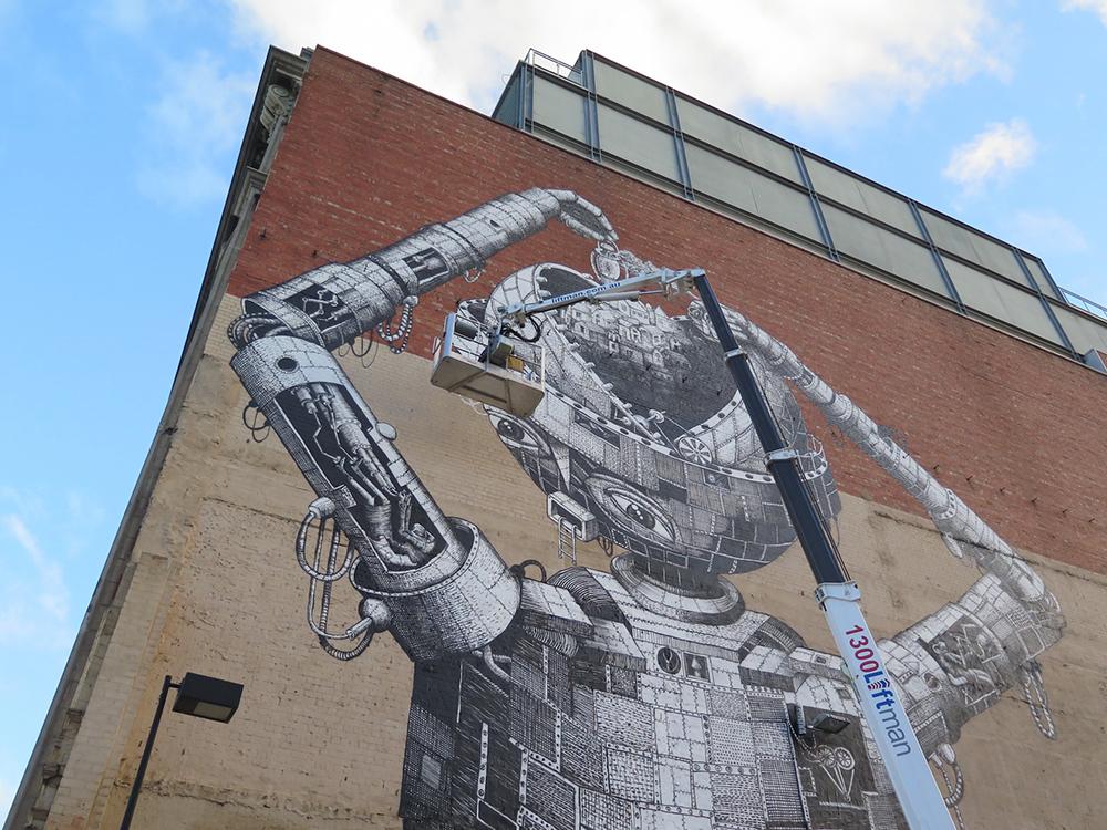Phlegm Street Art Melbourne Provocare