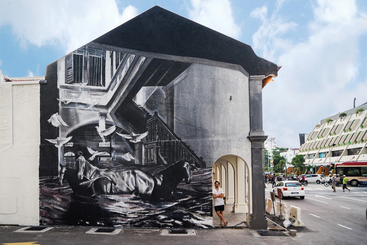 Ricky lee gordon archives gorgo for Mural 1 malaysia