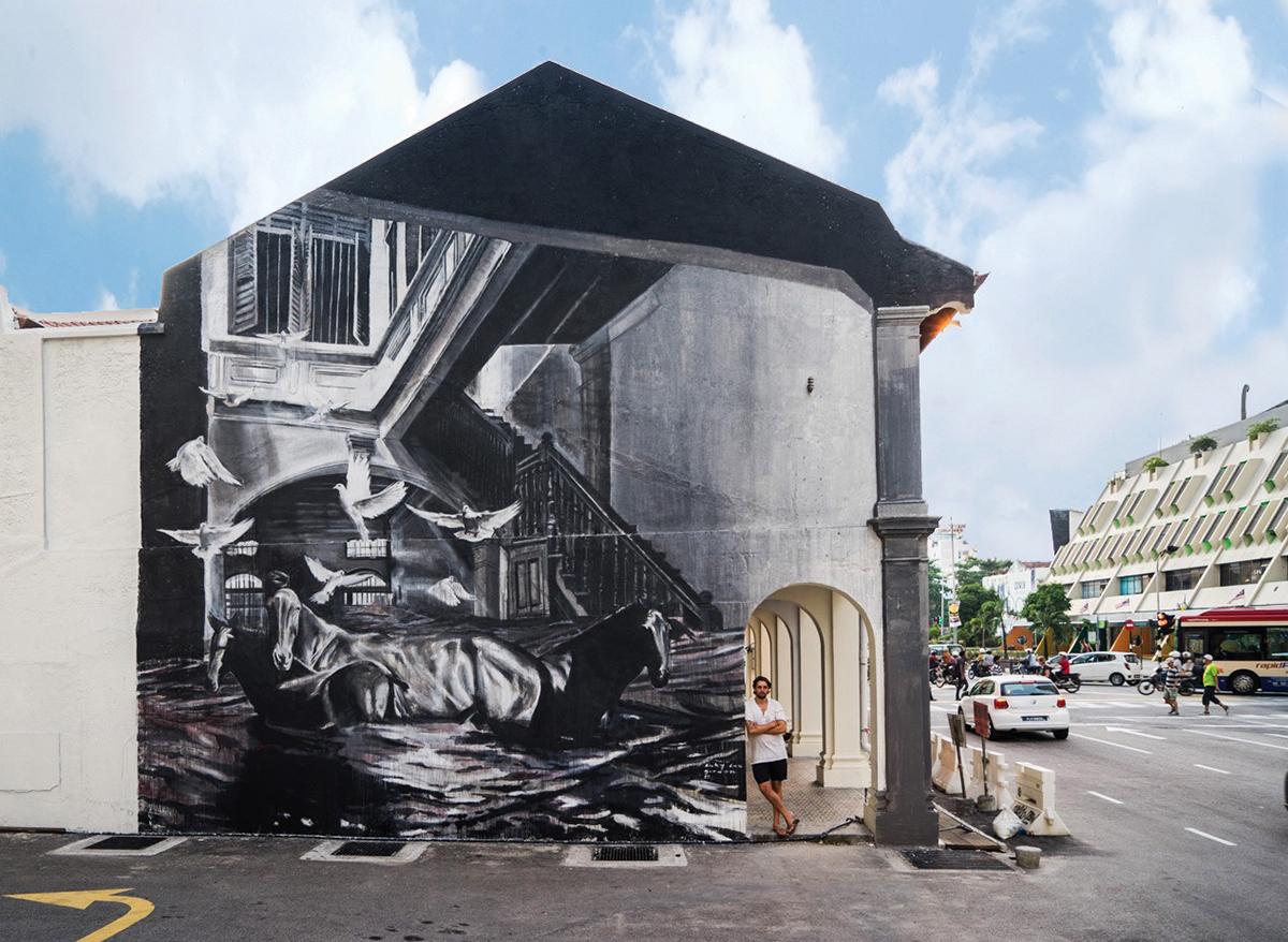 Ricky Lee Gordon Street Art Penang Malaysia