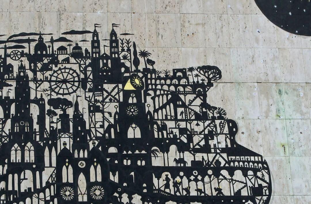 Sam3 Street Art Schwäbischhall METROPOLINK Festival