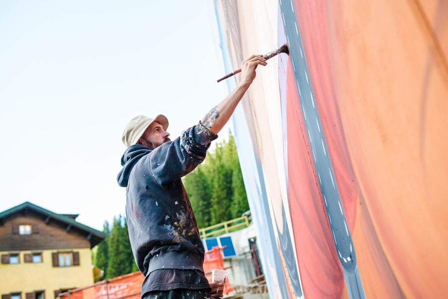 SeaCreative Street Art Santa Caterina Valfurva Stelvio Fest