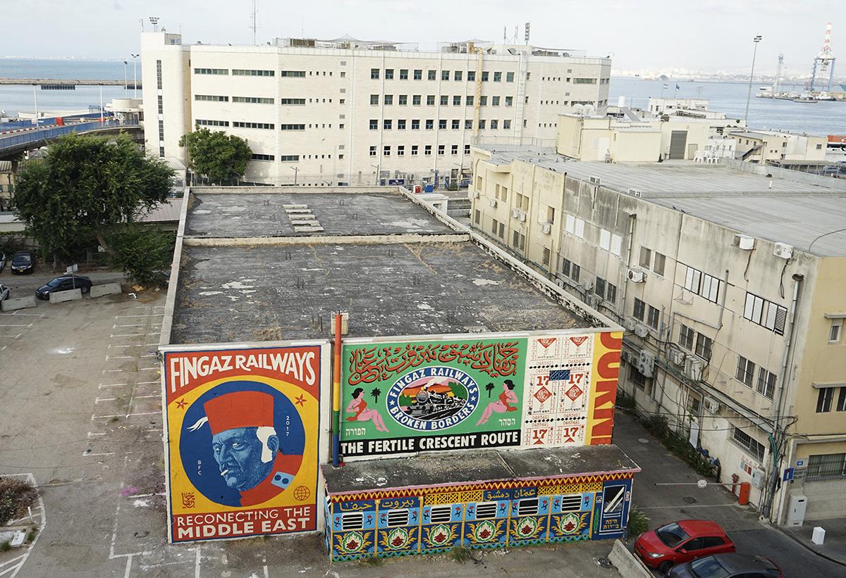 Broken Fingaz Ahmad Zoabi Street Art Haifa