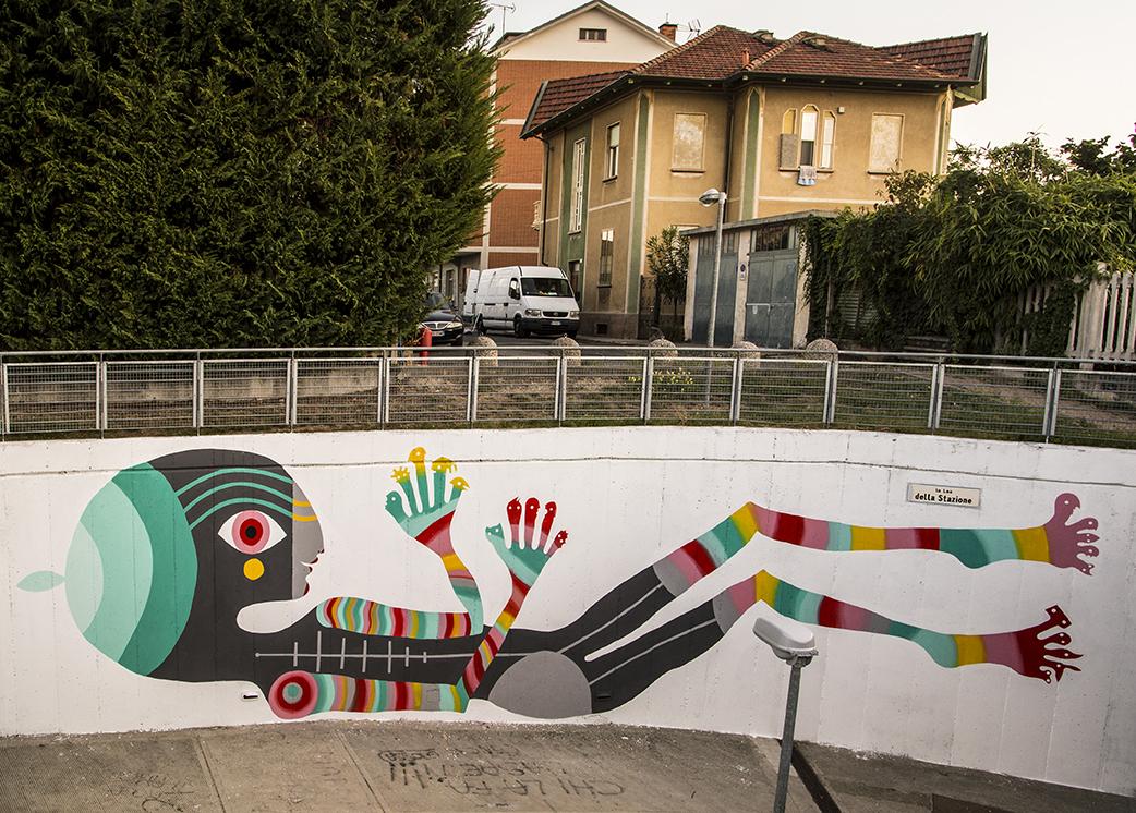 Gio Pistone Street Art Pinerolo Street Alps Festival