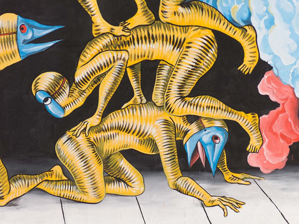 Gods in Love Street Art Stigliano Appartengo Festival