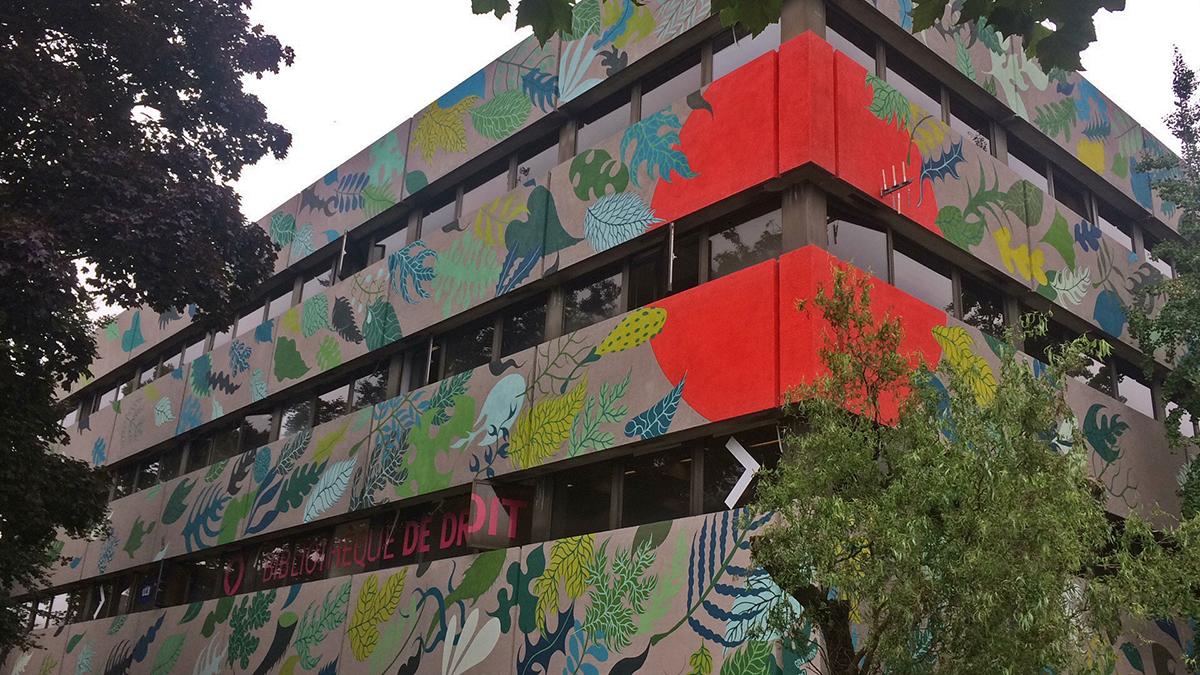 Gola Hundun Street Art Bruxelles