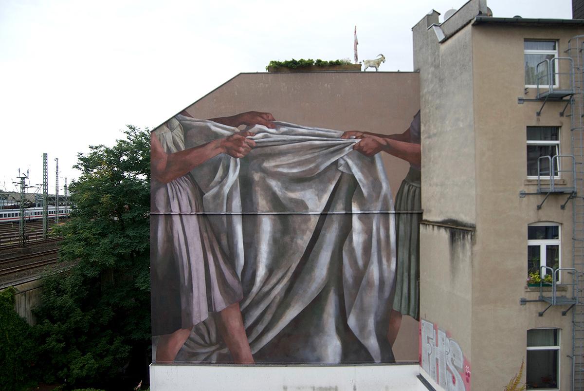 Hyuro Street Art Köln CityLeaks Festival